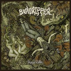Bongripper - Hippie Killer #Metal #MetalCoverArt #StonerMetal #SludgeMetal #DoomMetal