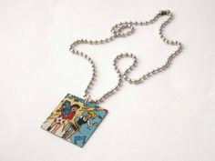 Vintage Archie Comic 'Boombox' Pendant Necklace by LilRedsBoutique, €6.00