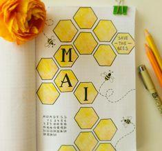 Monthly Welcome Bullet Journal Bujo Bee