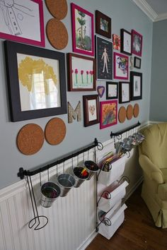 dude...those are round corkboard trivets to tack things to...by far, awesome! nutmegnance