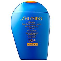 Shiseido - Ultimate Sun Protection Lotion Broad Spectrum SPF 50+ Wetforce For Face/Body #sephora