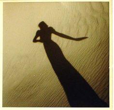 "Olive Cotton* ""Model's Shadow on Sand,"" c.1937(from billyjane & yama-bato viaJosef  Lebovic Gallery)"