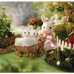 The Calico Critters, by far, the cutest collection of critters and doll house ever!