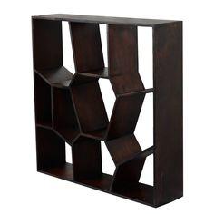 Bücherregal CRIMSON aus recyceltem holz | handgefertigt | stabil | Boho shabby | 105 x 40 x 105 | Design Möbel aus recycelten Materialien von trendsdeco auf Etsy