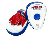 YOKKAO Curved Focus Mitts handmade in Thailand from real leather. YOKKAO Boxing Focus Mitts for precision training workouts are now available in the USA. Martial Arts Equipment, Real Leather, Boxing, Thailand, Flag, Workout, Martial Arts Gear, Work Out, Science