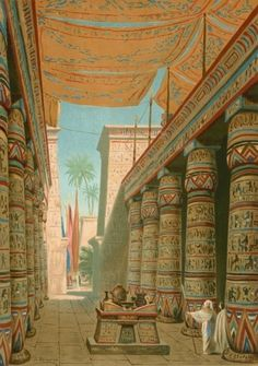 ancient temple inside ancient egypt temple wallpaper | egyptian