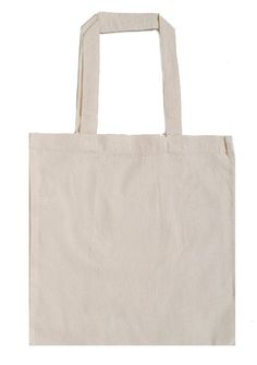 NOB 10-PACK Port Authority Cotton Canvas Budget Tote Bags Natural// Red
