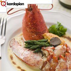 Lagosta ao Thermidor, já experimentou? Acesse o link abaixo e responda nossa enquete, aproveite e saiba onde comer. www.kardapion.com/comer-lagosta-ao-thermidor