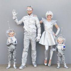 Space Kostüm selber machen   Kostüm Idee zu Karneval, Halloween & Fasching
