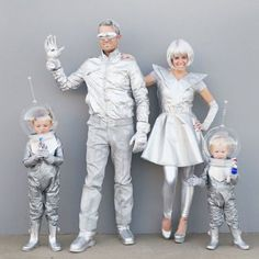 family futuristic costume tell love and party. Black Bedroom Furniture Sets. Home Design Ideas