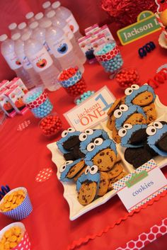 "Photo 3 of 14: Elmo & Cookie Monster / Birthday ""Elmo & Cookie Monster"" 