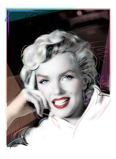 Marilyn Monroe Photographs by Photographer George Barris and Artist Dennis Mukai Marilyn Monroe Shirts, Marilyn Monroe Tattoo, Marilyn Monroe Photos, Marylin Monroe, Leslie Ann, Pop Art Girl, Colouring Pics, Norma Jeane, Famous Artists