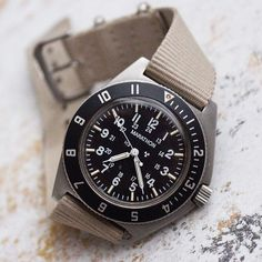 This is a US military issued Marathon Navigator Military Issue, Us Military, Wrist Watches, Watches For Men, Marathon Watch, Best Looking Watches, Seiko Diver, Omega Watch, Clocks