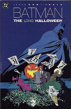 If there is a graphic novel in the superhero genre we would recommend, Batman: The Long Halloween is the bomb. Unlike Hush, the artwork does not distract from the gripping story that Loeb weaves into
