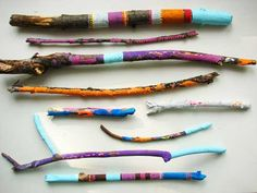 i love painted sticks