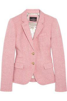 herringbone wool jacket ++ j.crew - me likey!