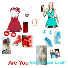 """""""Are You Gonna Cheer Loud?"""" by missgliter on Polyvore featuring Forplay, Converse, adidas, Casetify, Vera Bradley and Moschino"""