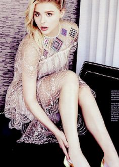 Chloe Moretz by Frankie Batista for Glamour Mexico January 2016