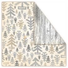 "UHK Gallery - LOFT CHRISTMAS ""Wood"" - scrapbooková čtvrtka Christmas Wood, Scrapbooking, Loft, Tapestry, Curtains, Quilts, Shower, Blanket, Rugs"