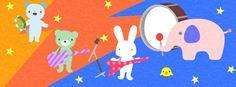 【Facebook cover】『明日はロックの日ということで、みんなでバンド結成です!形だけですが..^^;』制作日6/8