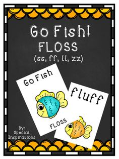 Go Fish FLOSS! ff, ss, ll, zz Check out these Go Fish Phonics Games! Collect…