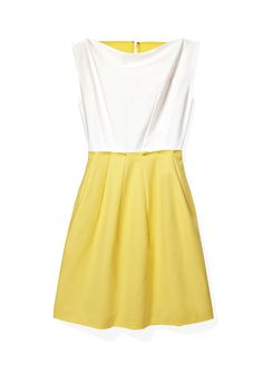 Three words: we love yellow! What do you think of this sunny dress?