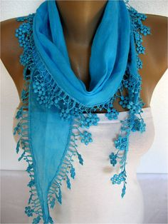 ON SALE  Scarf Cotton Scarf Gift Scarves Scarf with by SmyrnaShop, $9.90