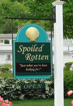 Spoiled Rotten, Ogunquit, Maine