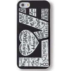 Keds iPhone 5 & 5s Case ($9.95) ❤ liked on Polyvore featuring accessories, tech accessories, phone cases, phone, iphone cases, tech, love black, keds, black iphone case and iphone cover case