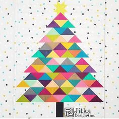 Hello!! I can't believe it's the middle of October! Perfect time to start (or continue) to work on holiday stuff! Check out this beautiful Christmas Tree that @jitkadesign made using our #vandcoombre! This is just fantastic! #showmethemoda #modafabrica