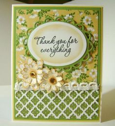 Thank You for Everything by bhappystamper - Cards and Paper Crafts at Splitcoaststampers