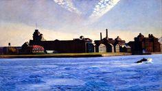 bofransson:  Edward Hopper - Blackwell's Island 1928