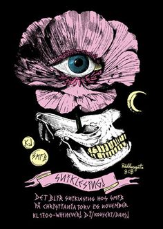 illustration poster eye