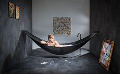 hammock like bath tub