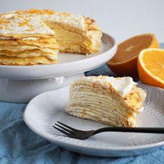 Home by Bianca: Pandekage kage med orange curd