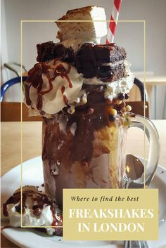 Do you want to try a Freakshake or don't know what they are? If you're located in London you're in luck because now there is a café selling them!
