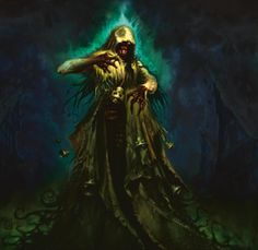 Street Wraith (with tolling bells); The Greatest Magic: The Gathering Art of All Time