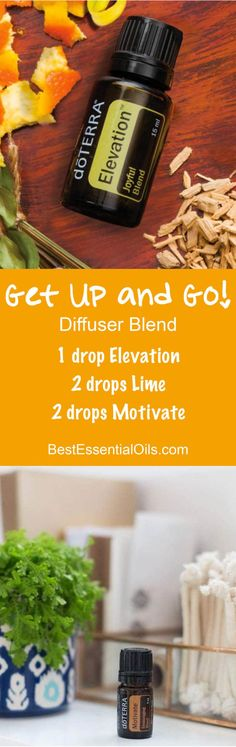 Get Up and Go! doTERRA Diffuser Blend