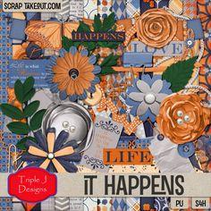 It Happens - Full Kit by Triple J Designs