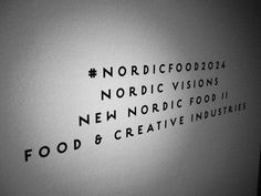 New Nordic Food - New Nordic Food