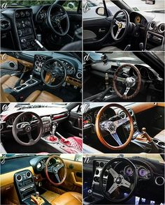 ▶Pick your favourite interior! #TopMiata #WheelWednesday