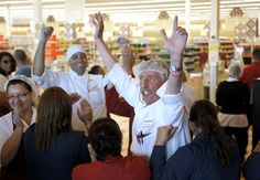 This is a story of a grocery store and a family feud and a CEO so beloved by employees and the community that he was brought back 6 weeks after being fired!  It is a rare day when a senior leader in a corporation is known for caring and a rare day when employees will stand up in solidarity - this is an excellent example of kindness AND how living your values can make a difference!  YEA!!!!