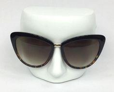 06facc9198b35 Kate Spade 0W58YY Cissy Cat Eye Tortoise and Gold Tone Sunglasses and Case.  eBay. Gafas De Sol ...