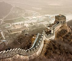 Great Wall, Badaling, China:      The Great Wall: a name so simple, yet so powerful. It stretches for 5,500 miles across China, and its most beautiful section happens to be easily accessible—within 70 miles of Beijing.