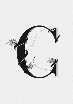 Fancy Letter C Fonts Calligraphy Alphabet C...