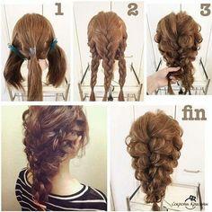Объёмная коса