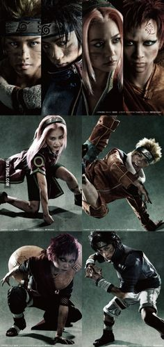 Naruto in real life!
