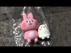 《B&Z》兔兔與P助 杯緣子 カナヘイ Kanahei  杯緣 KITAN盒玩