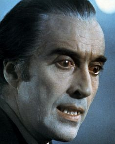 Christopher Lee in Scars of Dracula by Silver Screen Hammer Movie, Hammer Horror Films, Hammer Films, Dracula Film, Vampire Dracula, Count Dracula, Stanley Kubrick, Christopher Lee, Famous Monsters
