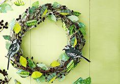 Do it: Pääsiäinen Grapevine Wreath, Grape Vines, Easter, Wreaths, Halloween, Party, Diy, Crafts, Decor